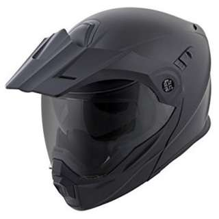 ScorpionEXO Scorpion EXO SIZE SMALL MEDIUM LARGE X-LARGE XX-LARGE MATTE BLACK ONLY  Adult Modular Flip Up Adventure Touring Motorcycle Motorbike Helmet