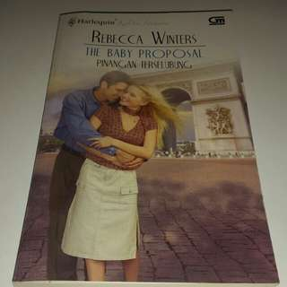 The baby proposal by Rebecca winter
