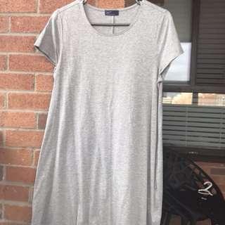 Gap grey t-shirt dress. Size -medium