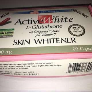 Active White Gluta capsules