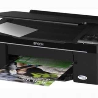 Epson Printer Stylus TX121