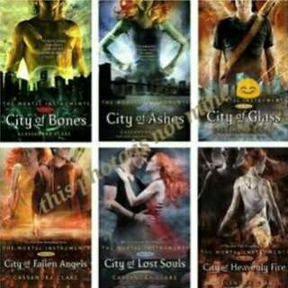 EBOOK: THE MORTAL INSTRUMENTS SERIES (6BOOKS)