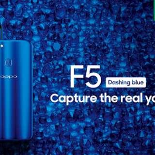 Oppo f5 blue