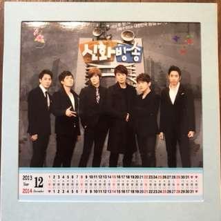 神話2013-2014紀念年曆 神話放送