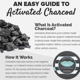 PRE-ORDER Activated charcoal (IMPORTED FROM AUSTRALIA)
