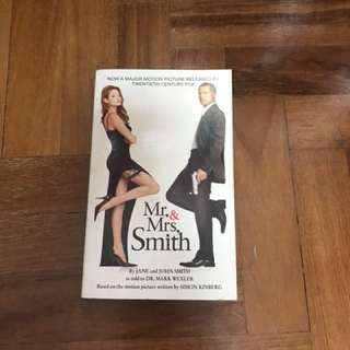 *Sales* Mr and Mrs Smith Book