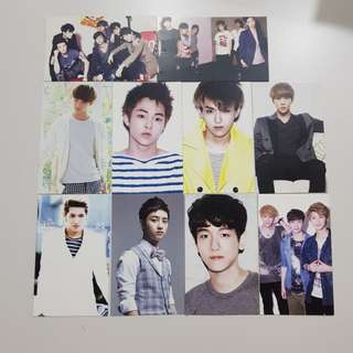 Unofficial exo photocards