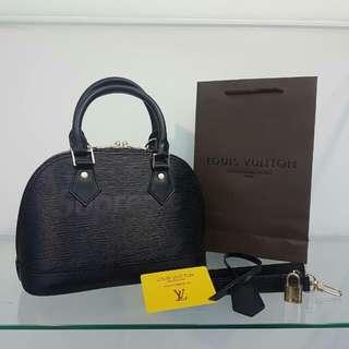 Louis Vuitton Supreme Alma Black
