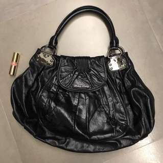 Miu Miu Handbag (Dark Purple)