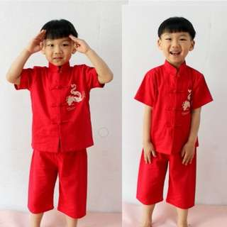 Chinese New Year Boys Traditional Clothing