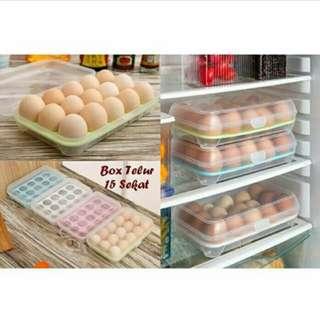 Tempat telur 15pcs