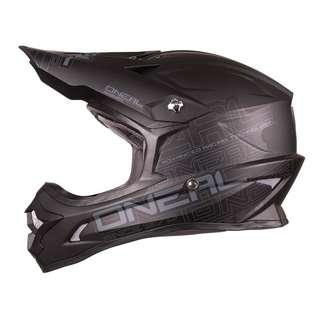 O'Neal BLACK 3 Series Helmet SIZE SMALL MEDIUM LARGE X-LARGE XL XX-LARGE XXL Motorbike Motorcycle Off Road Off-Road Mountain Bike Motocross Helmet -Scooter E Scooter Electric Scooter Helmet