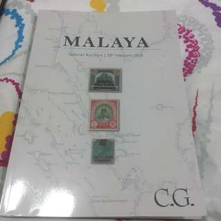 Malaya valuable Stamp collection Album