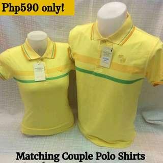 ❤ New! Sale! Matching Couple Polo Shirts