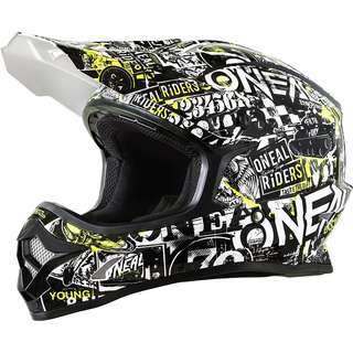 O'Neal Mens Off-Road 3 SRS Attack Helmet Black SIZE Large ONLY Motorbike Motorcycle Off Road Off-Road Mountain Bike Motocross Helmet -Scooter E Scooter Electric Scooter Helmet