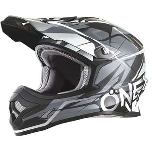 O'Neal 3 SRS Mens Off-Road Free Rider Helmet Black Grey SIZE X-Large XL ONLY Motorbike Motorcycle Off Road Off-Road Mountain Bike Motocross Helmet -Scooter E Scooter Electric Scooter Helmet