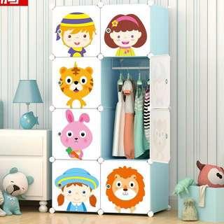 Children and Animal Series Wardrobe/ Bookshelf / Storage / Closet