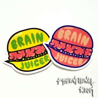 Brain Juicer Sticker