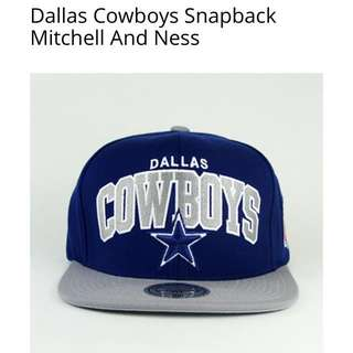 🚚 dallas cowboys mitchell and ness snapback 帽 二手