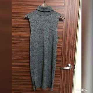 高領毛衣 長版毛衣