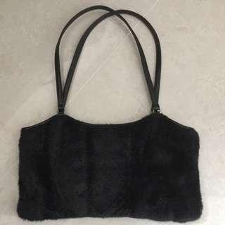 美國Kenneth Cole毛毛手袋furry handbag