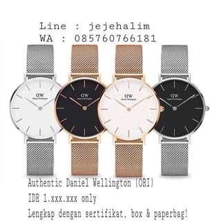 Authentic Daniel Wellington Watches