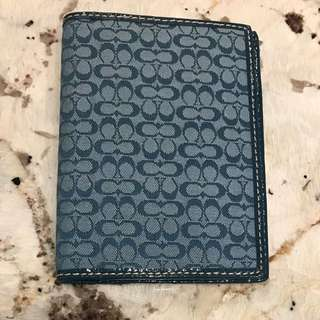 Coach Passport folder wallet - unused
