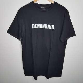 """NegativiTee """"Demanding"""" Shirt XL"""