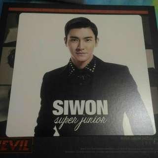 Super Junior Hero - Siwon Jacket Card