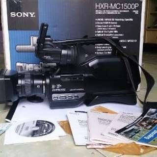 "Kamera Video HD SONY HXR-MC1500 (PERCUMA  MONITOR LED TOUCH SCREEN 5""×4"")"