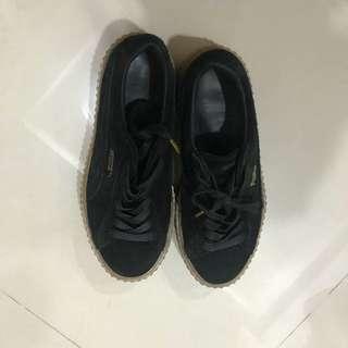 Puma x fenty厚底鞋