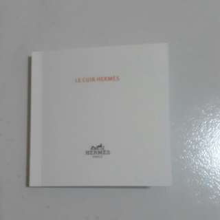 Hermes Leather care book