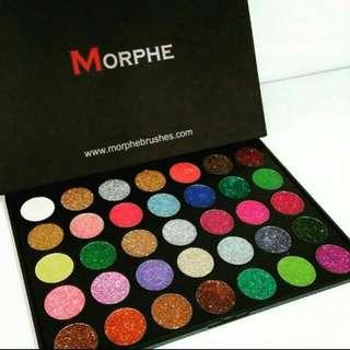 Morphe Eyeshadow Glitter Palette
