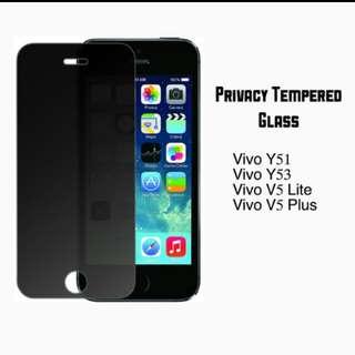Privacy Tempered Glass for Vivo