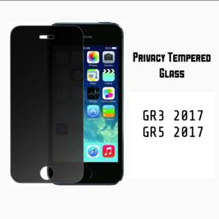 Privacy Tempered Glass for Huawei Gr3 Gr5 2017