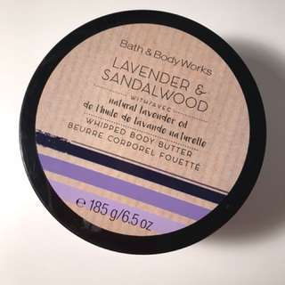 Lavender and Sandalwood Body Butter