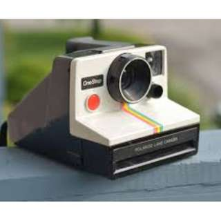 Polaroid Rainbow White OneStep Camera
