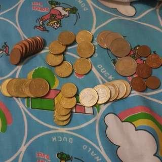SALE!!! Euro coins (pounds)