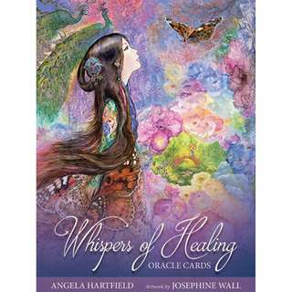 NEW RELEASE Oracle cards Whispers of Healing Angela Hartfield Artwork by Josephine Wall