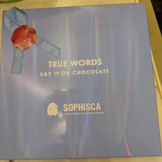 Sophisca chocolate set (great for gift to lover)