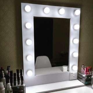 vanity mirror murah RM 250 KL