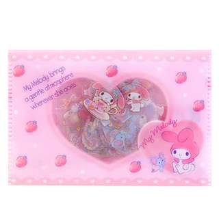 (Mix & Match)*Sanrio Japan - My Melody Sticker Flakes in Plastic Pouch