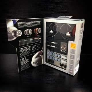 新年優惠★全新RHA T10 in-ear headphone Hi-res 英國耳機