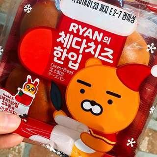 【預購】 韓國早餐Ryan車打芝士流心軟包 $90 5包
