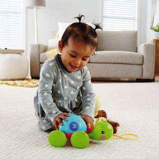 fisher price pull along turtle