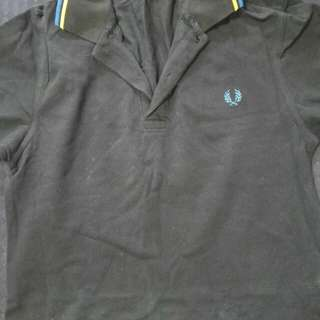 Dark Blue Authentic Fred Perry Polo Tee
