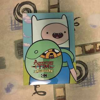 Adventure Time Finn the Human DVD + Finn Backpack