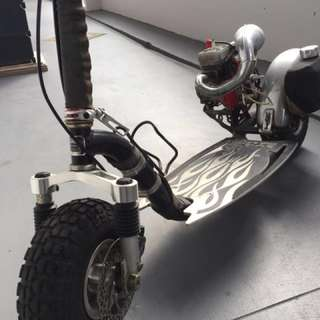Gas scooter for sales (petrol)