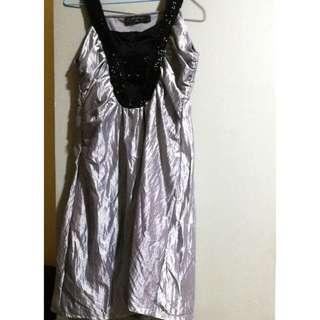 New Silver Dress