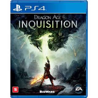 (Brand New Sealed) PS4 Game Dragon Age Inquisition.